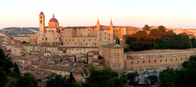 MARCHE: Pesaro – Fano – Candelara – Ancona – Corinaldo – Ostra – Urbino