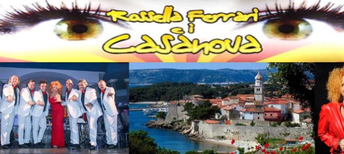 Rossella Ferrari e i Casanova all'Isola di  KRK