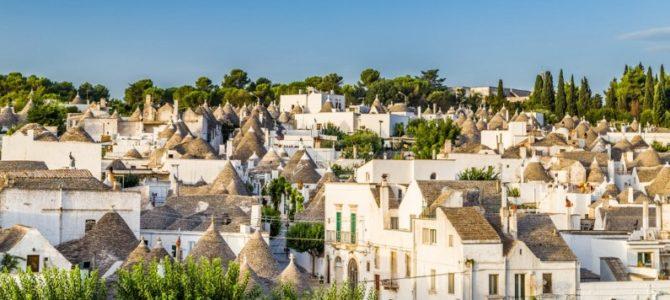 PUGLIA:  Alberobello – Lecce – Matera – Martina Franca – Castellana –  Loreto