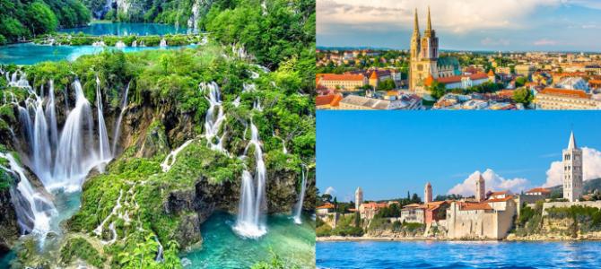 Zagabria, i Laghi di PLITVICE e l'Isola di RAB